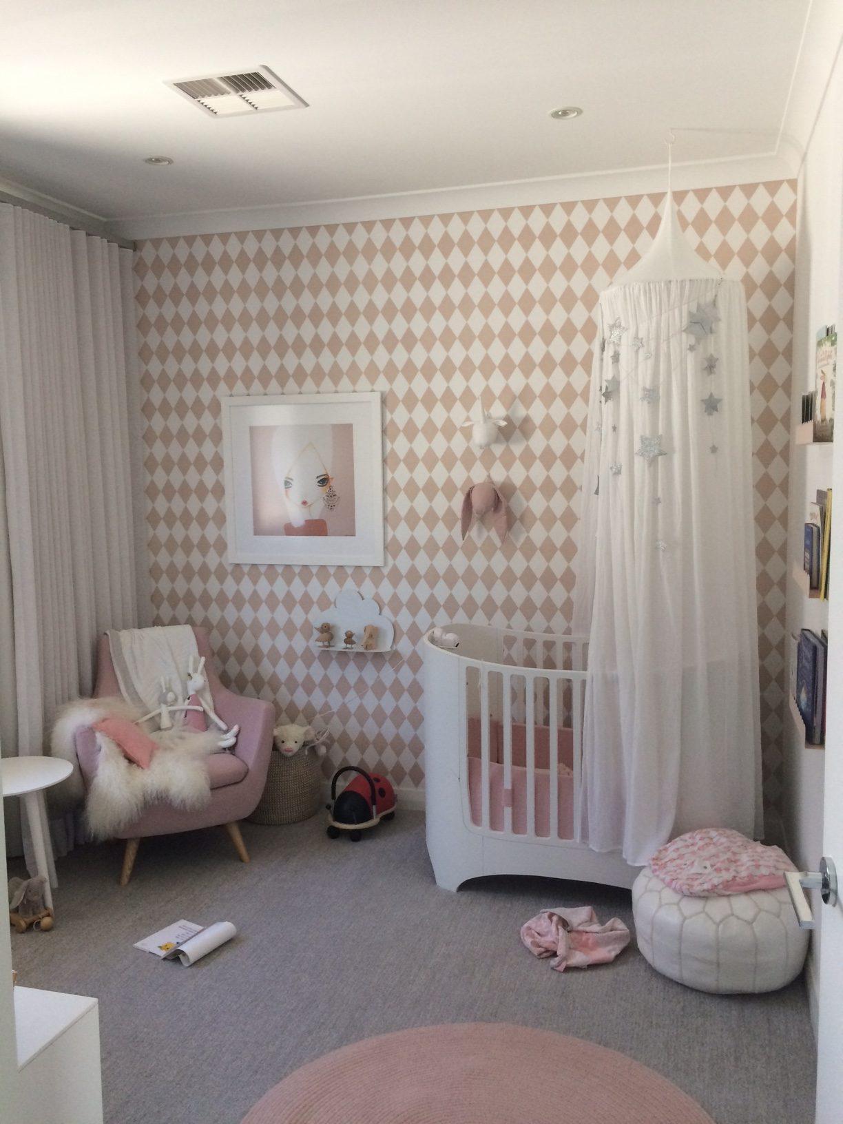 Miffy with Swedish Wallpaper