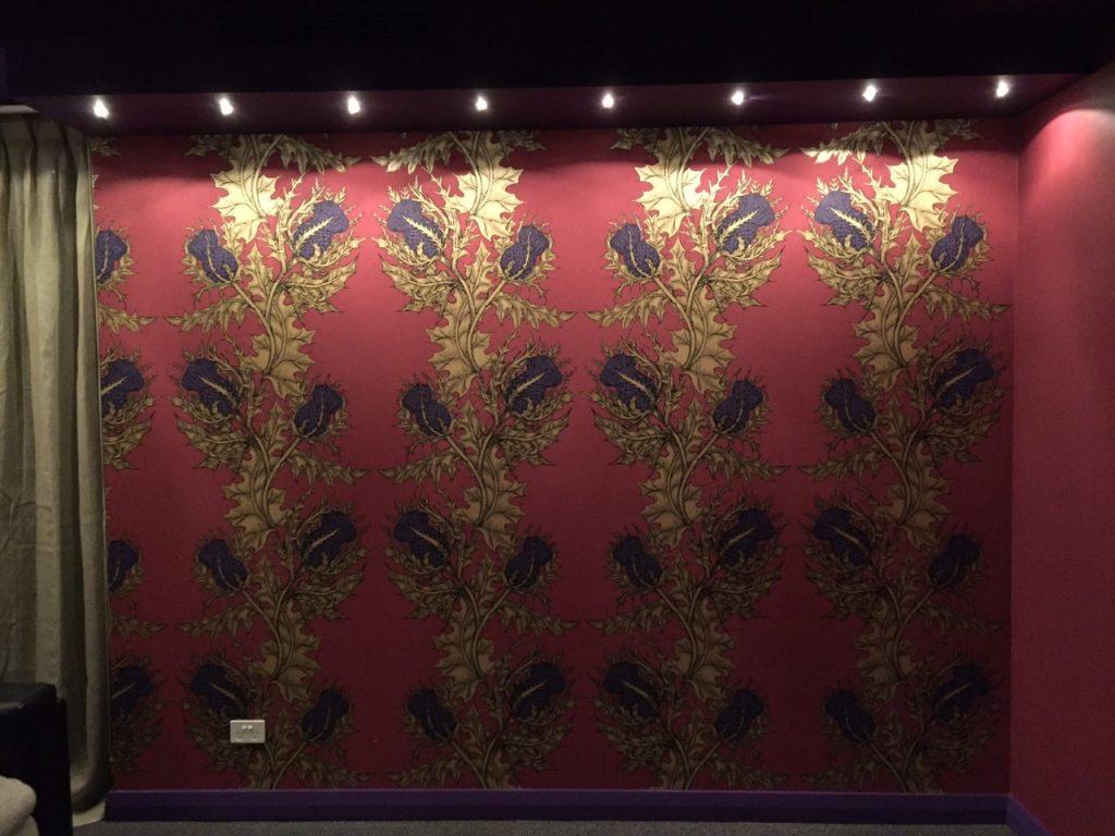 Theatre Room Wallpaper