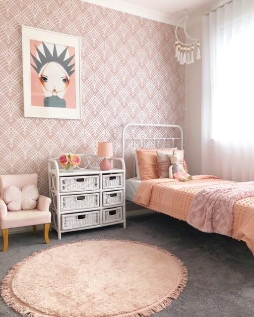 Girls bedroom in Leederville designed by Kim Saunt #inspire