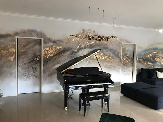Living room in Sorrento